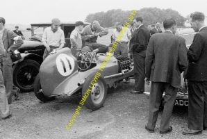 AJB Special Archie Butterworth in paddock Winfield Scotland 1951 (b)